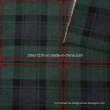 21Wales Corduroy Fabric for Garments with Check Printed