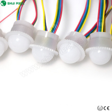 Milky white & tranparent 26mm dmx512 addressable led digital pixel
