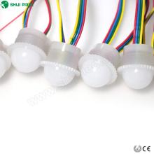 Молочно-белого и прозрачного 26мм dmx512 для адресуемых светодиодный цифровой пиксель