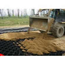 Géogrille Geocell pour la protection du sable de pente