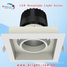 Cuadrado forma alta luz 16w COB LED luz de techo