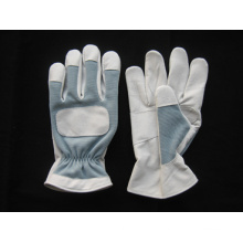 Pig Grain Leather Palm Mechanic Work Glove