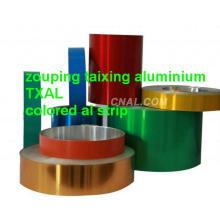 lacquered aluminium strip for pharmaceutical caps