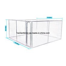 Hot Sale Large Outdoor Chain Link Iron Dog Kennel