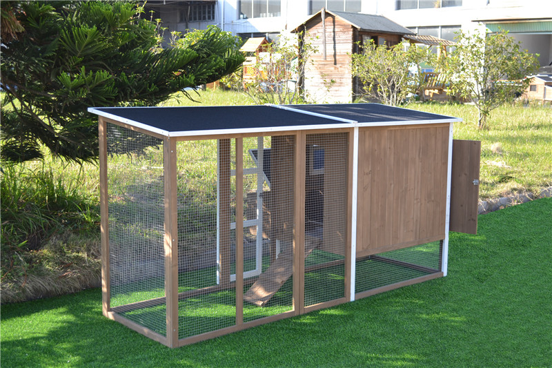 small portable chicken coop