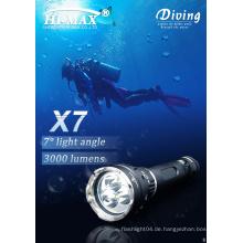 Hi-max cree xm-l u2x3led Magnetschalter Tauchbrenner führte 3000 Lumen