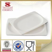 Placa de piedra de la porción al por mayor, placa cuadrada de China para el restaurante