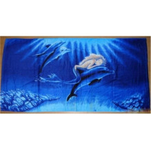 Jacquard Digital Printing Beach Towel Thailand
