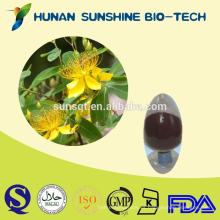 Medicamento sicotrópico Extracto de hierba de San Juan PRUEBA HPLC 0.3% Hipericina
