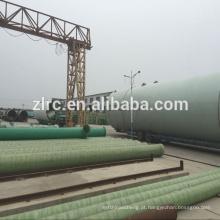 Linha de produção de tubos de fibra de vidro FRP Filament Máquina de enrolamento