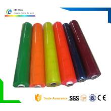 Klarer oder farbiger Weich-PVC-Film für Dekoration und Verpackung