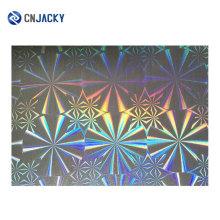Голограмма лазерный узор пленка Оверлей для ID-карты Производство