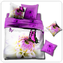 125gsm 3d printed 100% polyester fabric for bedsheet