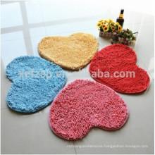 microfiber chenille mini bath mats for kids