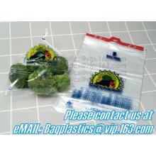 Fruit & vegetable bag, stapled bags, wicket bags, wicketed bags, wicketed food bags, LDPE Wicket Bread Packaging Bag, DELI
