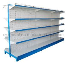 Low Price-Mesh Back Supermarket Gondola Shelving
