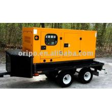 Reboque gerador diesel com manutenção em todo o mundo