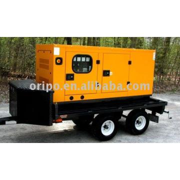 Дизельный генератор с прицепом по всему миру