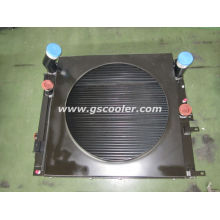 Aluminum Cooler with Fan Package for Baumag Loader