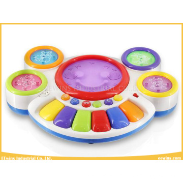 Musical Toys Hand Beat Toys Drum with Toys Keyboard