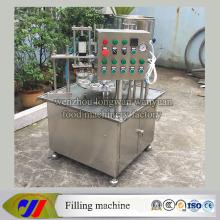 Máquina de llenado de taza de plástico rotativo automático