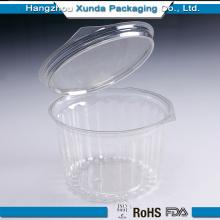 Emballage de gâteau en plastique transparent
