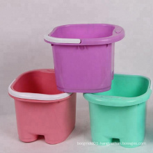 plastic laundry tubs mould made in China/OEM Custom plastic injection laundry tubs mold making