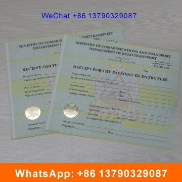Sicherheit Anti-Fake Customized Design Watermark Zertifikat