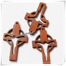 New Design Wholesale Cheap Wooden Cross / Crucifix (IO-cw017)