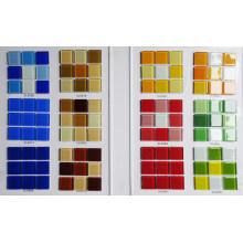 Mosaico barato chino del vidrio cristalino del mosaico