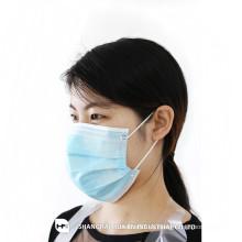 Einmalige Vlies Gesichtsmaske 2ply 3ply 4ply mit Ohrenschlaufe / Krawatte auf FROM CHINA SHANGHAI