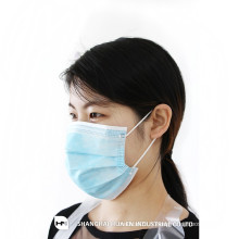 Masque facial non tissé jetable 2ply 3ply 4ply avec boucle d'oreille / attache sur FROM CHINA SHANGHAI