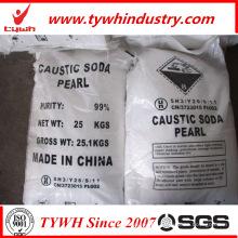 Bolsa de 25 kg de soda cáustica