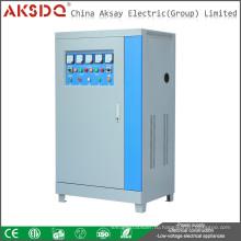 SBW 120KVA Промышленная атомная компенсационная мощность Интеллектуальный стабилизатор напряжения переменного тока, изготовленный в Китае