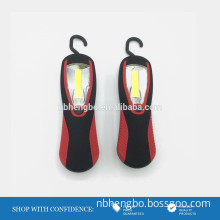 230nm ABS COB camping hook flashlight with magnet