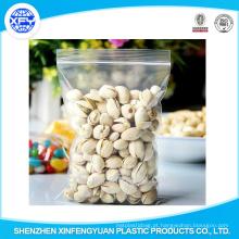 Alimentos personalizados Ziplock sacos de plástico para alimentos de embalagem