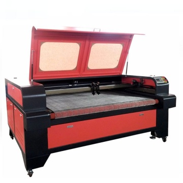 Meja Besar Kulit Kain Tekstil Laser Cutting Machine