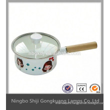 enamel tea pot for dubai with tea strainer