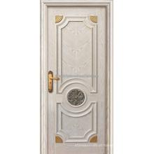 Abrindo portas interiores tradição estilo Carvalho folheado do MDF para Villa do balanço