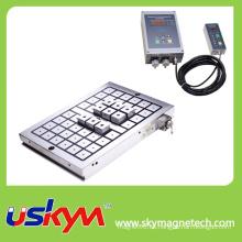 Mandril magnético permanente eléctrico rectangular