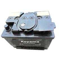 Batterie rechargeable à sec automobile DIN 56219-12V62ah