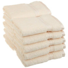 Custom 16s 21s cotton optical white 5 star hotel sauna towel
