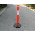 Traffic Sign 1100mm PE Flexible Reflective Warning Post