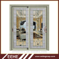 Living room wardrobe aluminium glass door designs/aluminium profile sliding door