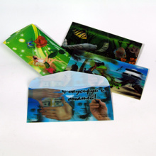 2015 Newest Design 3D Lenticular Printing Wallet