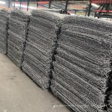 Gabion box 2x1x1 / welded gabion/hexagonal gabion wire mesh for protection,pvc coated rock gabion