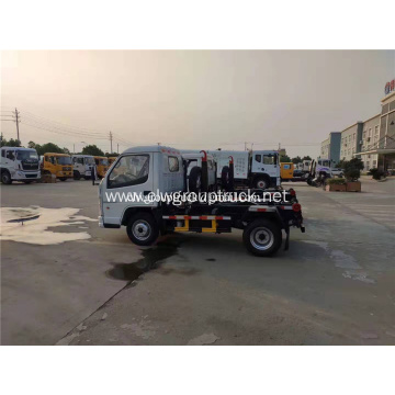Hook Lift Container 3Cbm Mini Garbage Trucks