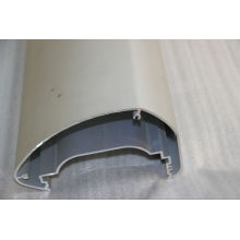 Satin , Bronze Industrial Aluminium Profile For Elecro-solar Radiation Pool / Spa Heater