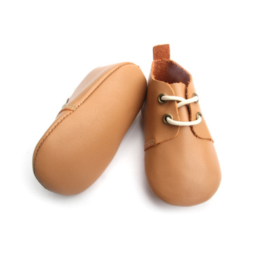Fesyen Kulit Real Fancy Baby Oxford Shoes