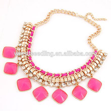 Korean style new model plum bubble bead necklace